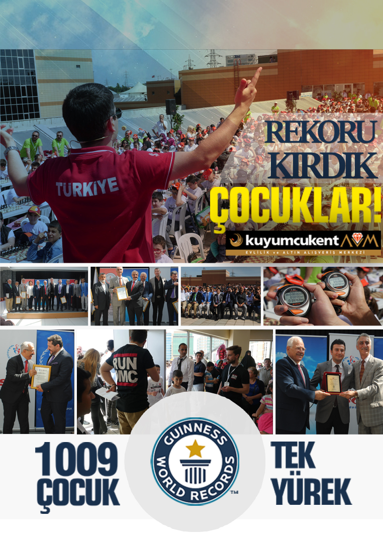 Guiness World Records Etkinliği